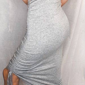Heather grey ALine skirt!